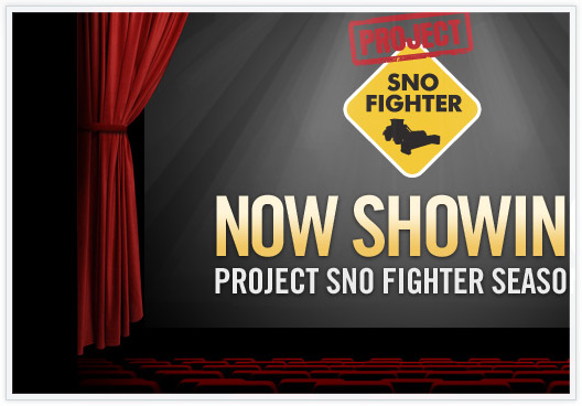 Project Sno Fighter launch email